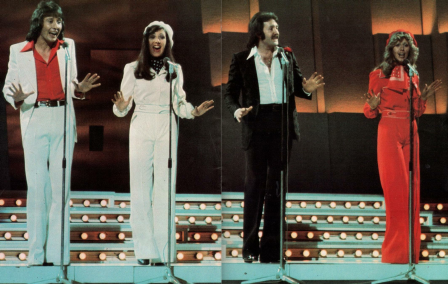 Brotherhood of Man in 1976 ... and they are still together and touring.